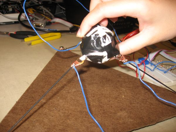 3D Video Game Control Using Atmega32