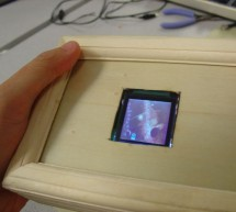 A portable, color, tilt-controlled video game system Using Atmega32