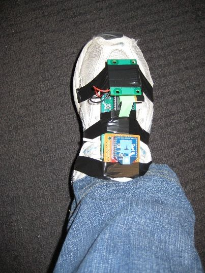 ACL Research Foot Acceleration Sensor Atmega644