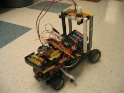 Accelerometer Controlled R/C Vehicle Using Atmega32