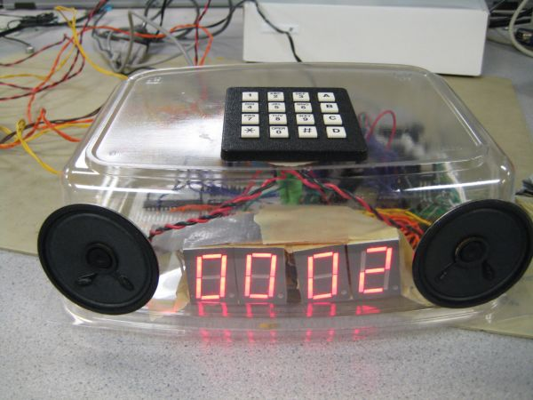 Alarm clock with speech synthesis Using Atmega32