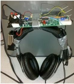 Auditory navigator Using Atmega644