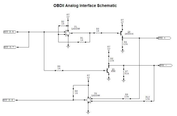 Automotive On-Board Diagnostics Reader Using Atmega32 Schemetic