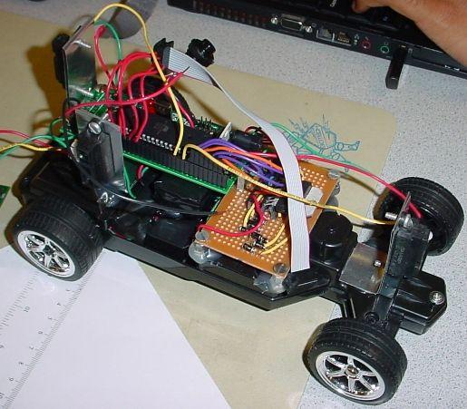 Autonomous Self-parking car Using Atmega32