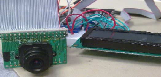 CMOS Camera Rock Paper Scissors Game System Using Atmega644