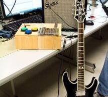 Compact Guitar Pedalboard Using Atmega644