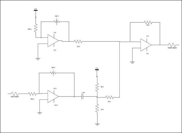 Digital Oscilloscope Using Atmega644 Schemetic
