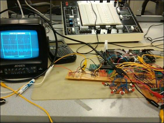 Digital Oscilloscope Using Atmega644