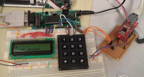 Digital Receipts System Using Atmega644