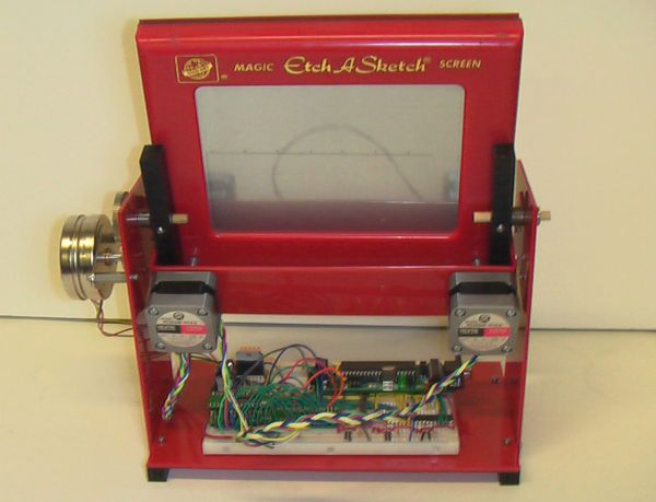 Electric Etch Using Atmega644