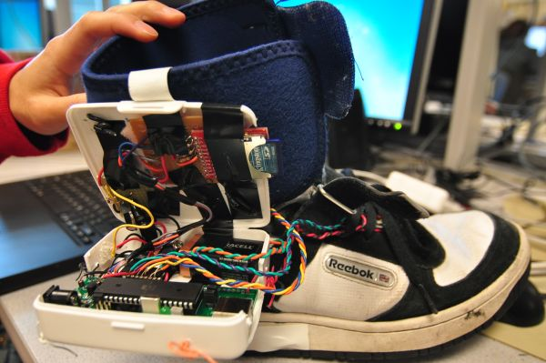 Embedded Foot Pronation Detection Using Atmega644