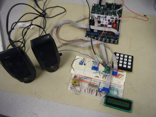 FM Radio Receiver Using Atmega644