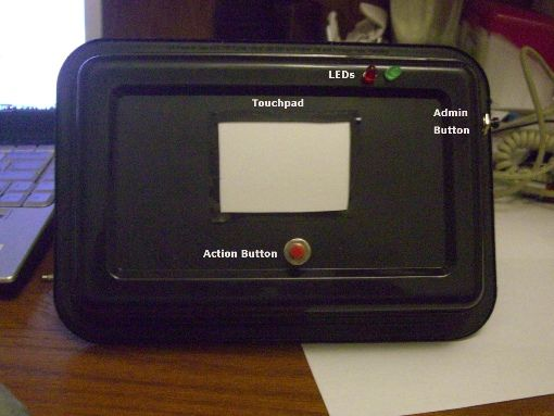 Gesture Based Touchpad Security System Using Atmega644