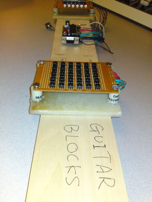 Guitar Blocks Using Atmega644