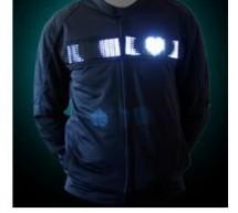 Heart Rate Display LED T-Shirt Using Atmega644