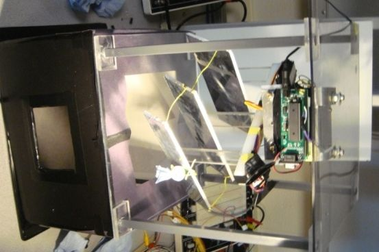 Heliostat Skylight Using Atmega644