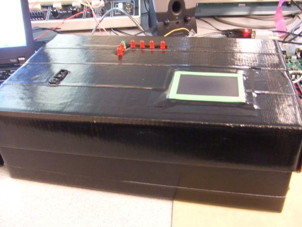 Infrared Music Synthesizer Using Atmega644