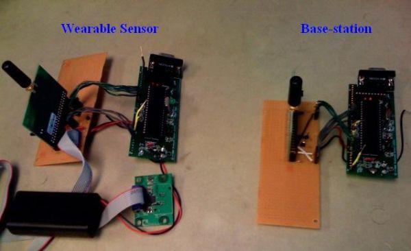 Intelligent wireless pedometer Using Atmega32