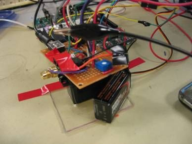 Laser Audio Transmitter Using Atmega32
