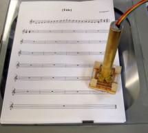 Music Wand: Real-Time Optical Scanning of Sheet Music Using Atmega32