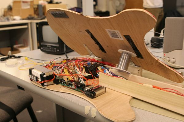 Programmable Synthesized Guitar  Using Atmega644