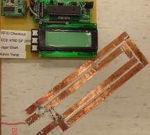 RFID sales checkout system Using Atmega644