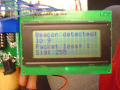 Radio Frequency Beacon Finder Using Atmel Mega32