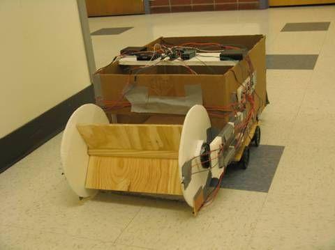 Autonomous Self-parking car Using Atmega644