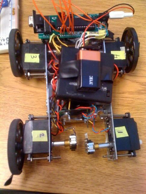 ODB-II Automotive data interface using Atmega644