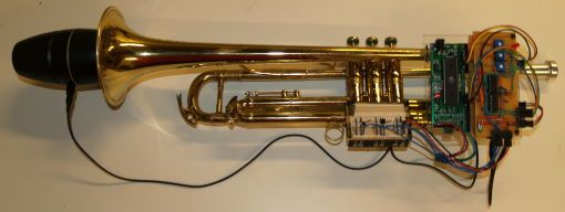 Trumpet MIDI Controller Using Atmega32