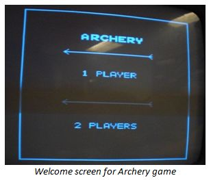 Virtual Archery Using Atmega644