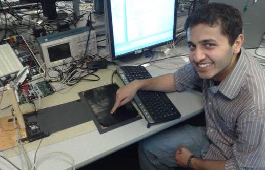 Virtual Keyboard Using Atmega32