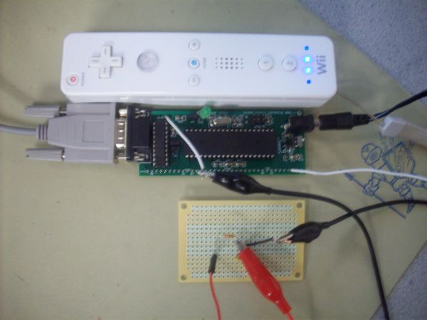 Wii Conductor Using Atmega32