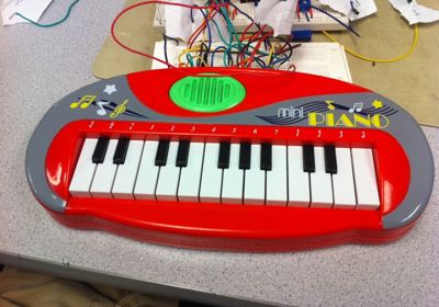 A Keyboard Synthesizer Workstation using Atmega644