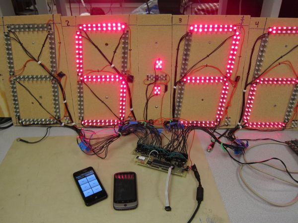 A Wireless Programmable Pace Clock Using Atmega644