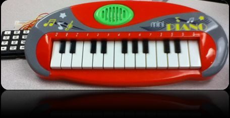 Auto-composing keyboard Using Atmega644