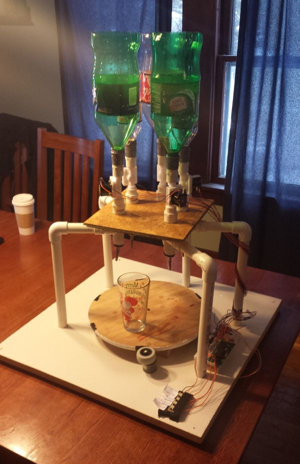 Automated Drink Mixer Using Atmega1284
