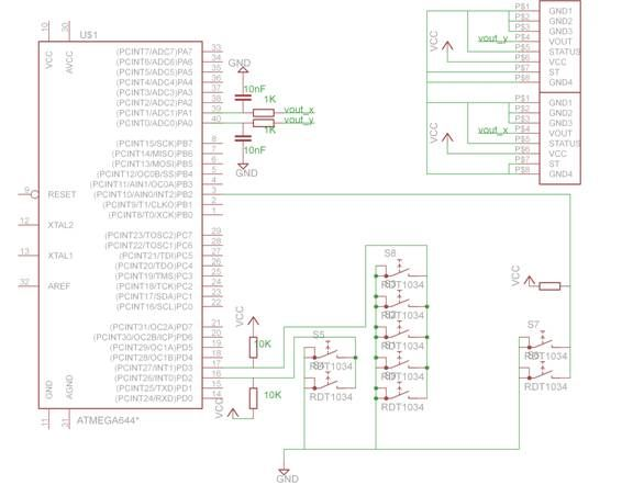 Autonomous Board Erasing Robot Using Atmega644