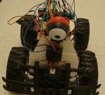 Autonomous visually steered car Using Atmega644