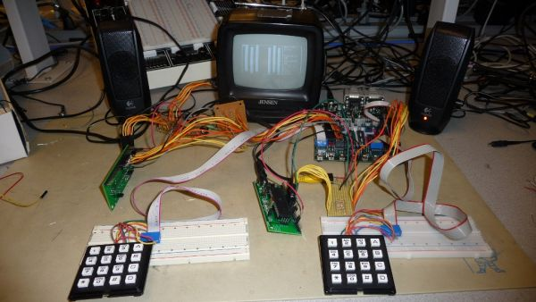 Battle video game Using Atmega644
