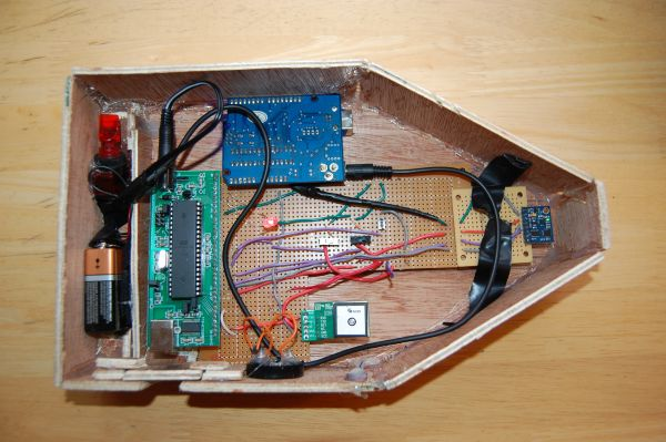 Acoustic Modem Using Atmega1284p