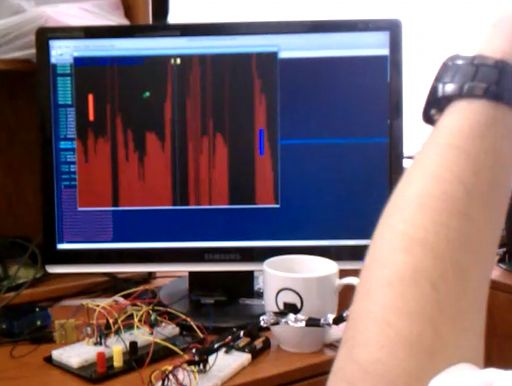 Brain-Computer Interface Using Atmega644