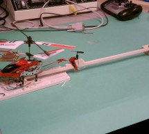 Evolutionary Altitude Control for a Helicopter Using Atmega644