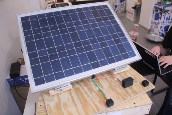 Heliowatcher solar tracker Using Atmega644