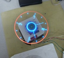 Remote Controlled POV Display Using Atmega1284