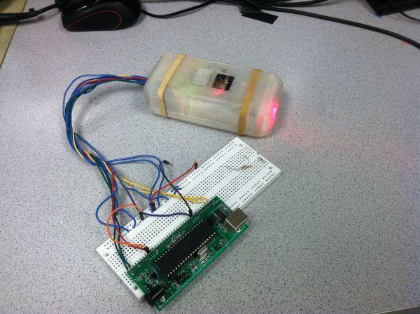 Scan-E: An optical blood pressure sensor Using Atmega1284