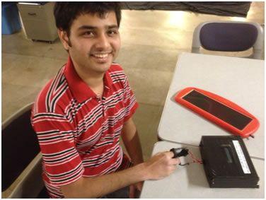 Solar Powered Pulse Oximeter and Heart Rate Meter Using Atmega644
