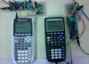 TI Calculator Wireless Chat Using Atmega644
