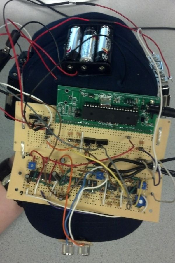 The Bat Hat Using Atmega1284
