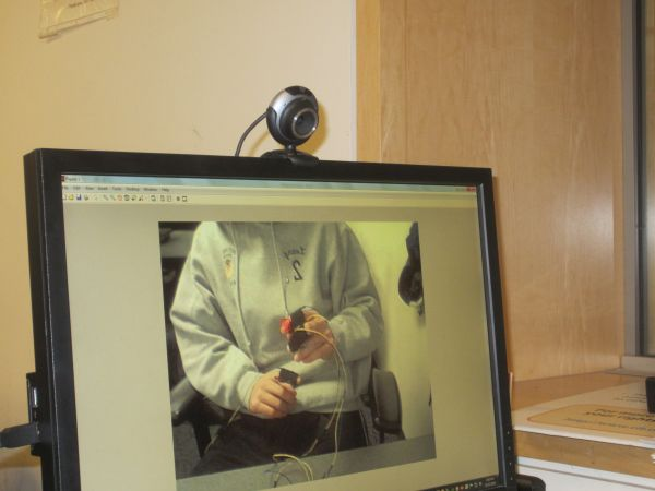 The Webcam Mouse Using Atmega1284